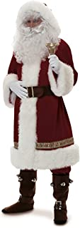 old world santa suit costume