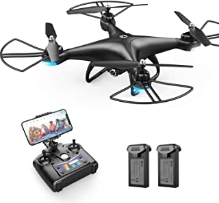 Holy Stone HS110D FPV RC Drone with 1080P HD Camera Live Video 120°Wide-Angle WiFi..