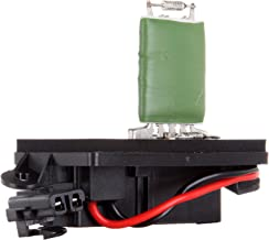 cciyu HVAC Blower Motor Resistor Fan Heating and Air Conditioning Blower Motor Resistor AC Blower Control Module fit for Cadillac, Chevrolet, GMC