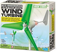 4M Wind Turbine Science Kit, Green Science