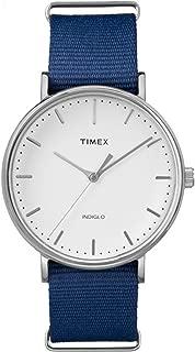 Timex Unisex Fairfield Nylon Slip-Thru Strap
