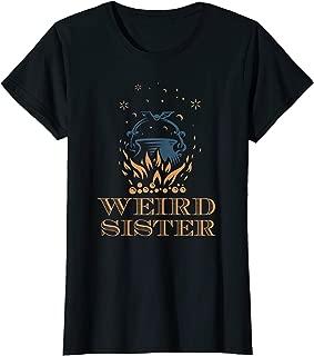 Weird Sisters Macbeth Shakespeare witch Halloween women's T-Shirt