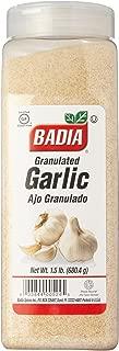 Badia Garlic Granulated 1.5 lbs (Pack of 1)