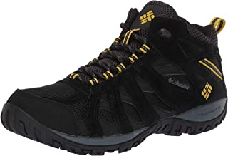 Columbia Mens Redmond Mid Waterproof Boot, Breathable, High-Traction Grip Hiking