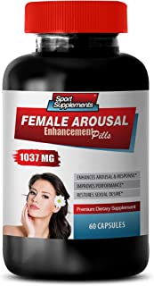 Sexual Boost for Women - Female Arousal Enhancement Pills 1037 MG - Premium Dietary Supplement - Horny Goat Weed with maca...