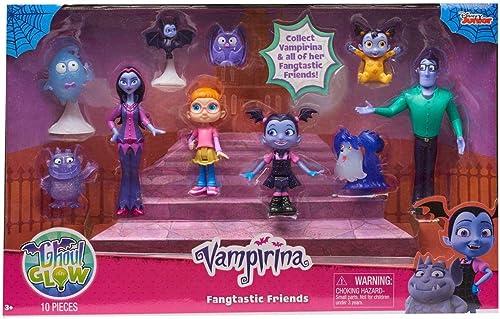 Disney Junior Vampirina Ghoul GFaible Fangtastic Friends Figure 13-Pack