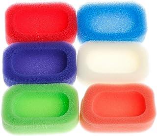 Lamdoo浴室キッチンメッシュスポンジソープボックスホルダーディッシュトレイコンテナランダムカラー