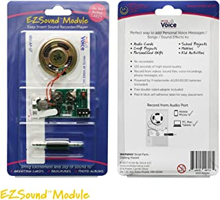 EZSound Module for DIY Audio Cards - Easy to Record - 120 Seconds Recording - High Sound Quality