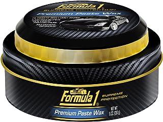Formula 1 Premium Car Paste Wax - Professional Super-Polymer Paint Protection and Shine - 8 oz.