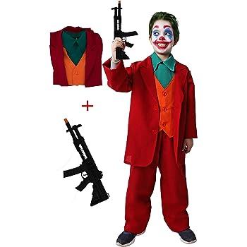 Gojoy shop-Disfraz y Pistola de Joker Payaso Asesino para Niños ...