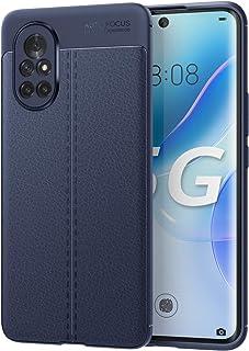 MoKo Case Compatible with Huawei Nova 8, Non-slip Texture Flexible TPU Gel Bumper Phone Shell Protective Shockproof Anti-S...