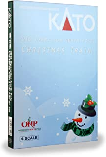 Kato USA Model Train Products N 2016 Operation North Pole Christmas Train Add-On Boxed Car Set