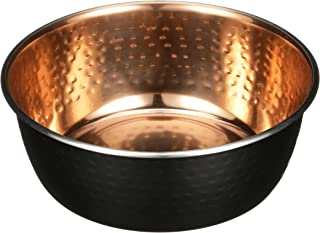 NEATER PET BRANDS Hammered Decorative Designer Bowls - Luxury Style Premium Dog and Cat Dishes