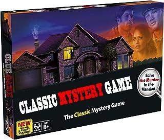 CLUE クルーゲーム探偵英語カードゲーム、ボードゲーム3-6人クラシックミステリー推理ゲーム …