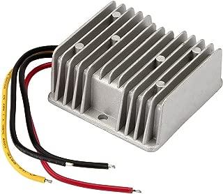 BlueWind Car Voltage Reducer,120W 48V to 12V 10A Waterproof Voltage Reducer for Golf Cart