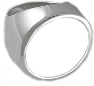 1/2 Sovereign Coin Ring Sterling Silver High Polished Coin Not Included