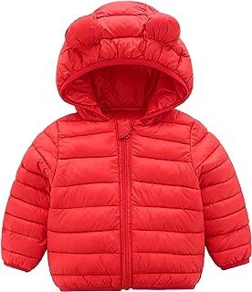 baby coat red