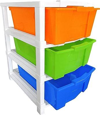 Aoomi Modular Storage Organizer & Storage Box, Multicolour, Standard, Rectangular