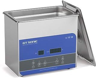GTSONIC R3 超音波洗浄機 業務用 小型 超音波洗浄器 3L 100W 40kHz 眼鏡 腕時計 メガネ 超音波 洗浄機 デジタル 加熱 脱気 超音波 クリーナー