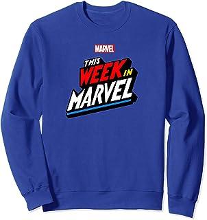 Marvel This Week in Marvel Logo Sweatshirt