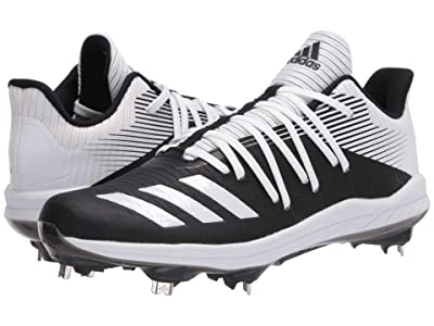 adidas Afterburner 6 (Core Black/Footwear White/Silver Metallic) Men