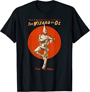 Classic Wizard of OZ Tinman Shirt-Vintage Oz Poster T-Shirt