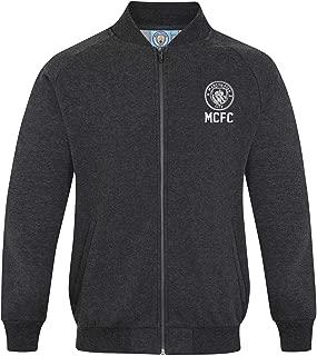 Manchester City FC Official Soccer Gift Mens Retro Varsity Baseball Jacket