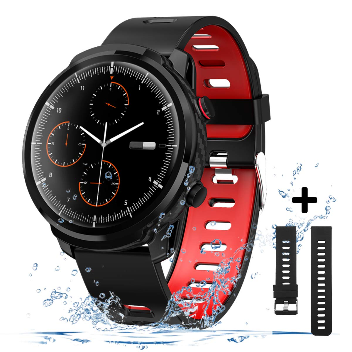 Android Waterproof Smartwatch Pressure Compatible