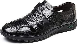 Sandals Breathable Casual Shoes Men Hollow Sandals Soft Moccasins Men Shoes