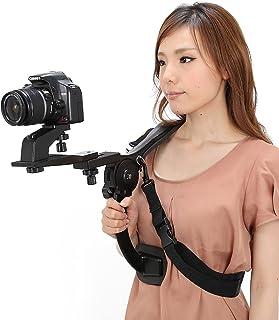 (ブルーロータス)BLUE LOTUS ビデオカメラスタンド マジッククロスセット本格ビデオ撮影に!ハンズフリーショルダーパッド 日本語説明書付BL-212