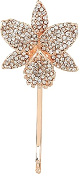 Nina - Orchid Bobby Hair Pin