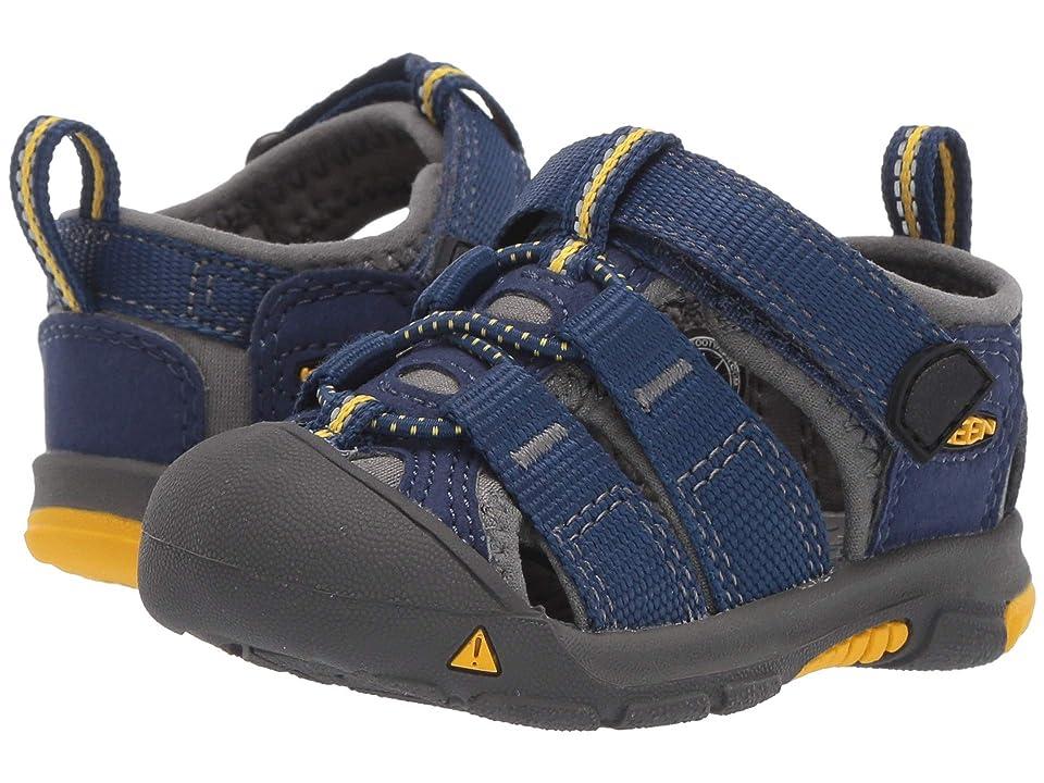 Keen Kids Newport H2 (Toddler) (Blue Depths/Gargoyle 1) Kids Shoes