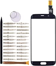 Goodyituo Touch Screen Glass Digitizer Replacement for Samsung Galaxy S6 edge/G925F/G925FQ/G925I/G925A/G925T/G925S/G9250(Blue)