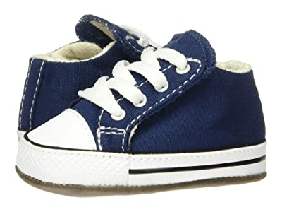 Converse Kids Chuck Taylor(r) All-Star(r) Cribster Gravity Graphic Mid (Infant/Toddler) (Navy/Natural Ivory/White) Boys Shoes