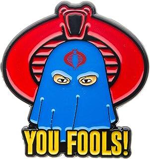 G.I. Joe Cobra\ You Fools\ Lapel Pin