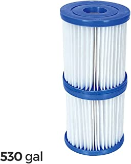 58094 Kit de 2 filtros de repuesto Bestway 2006-3028 de 530 galones