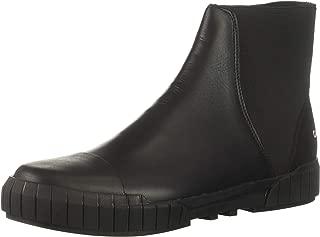 Calvin Klein Men's Brando Nappa Smooth/Elastic Fashion Boot