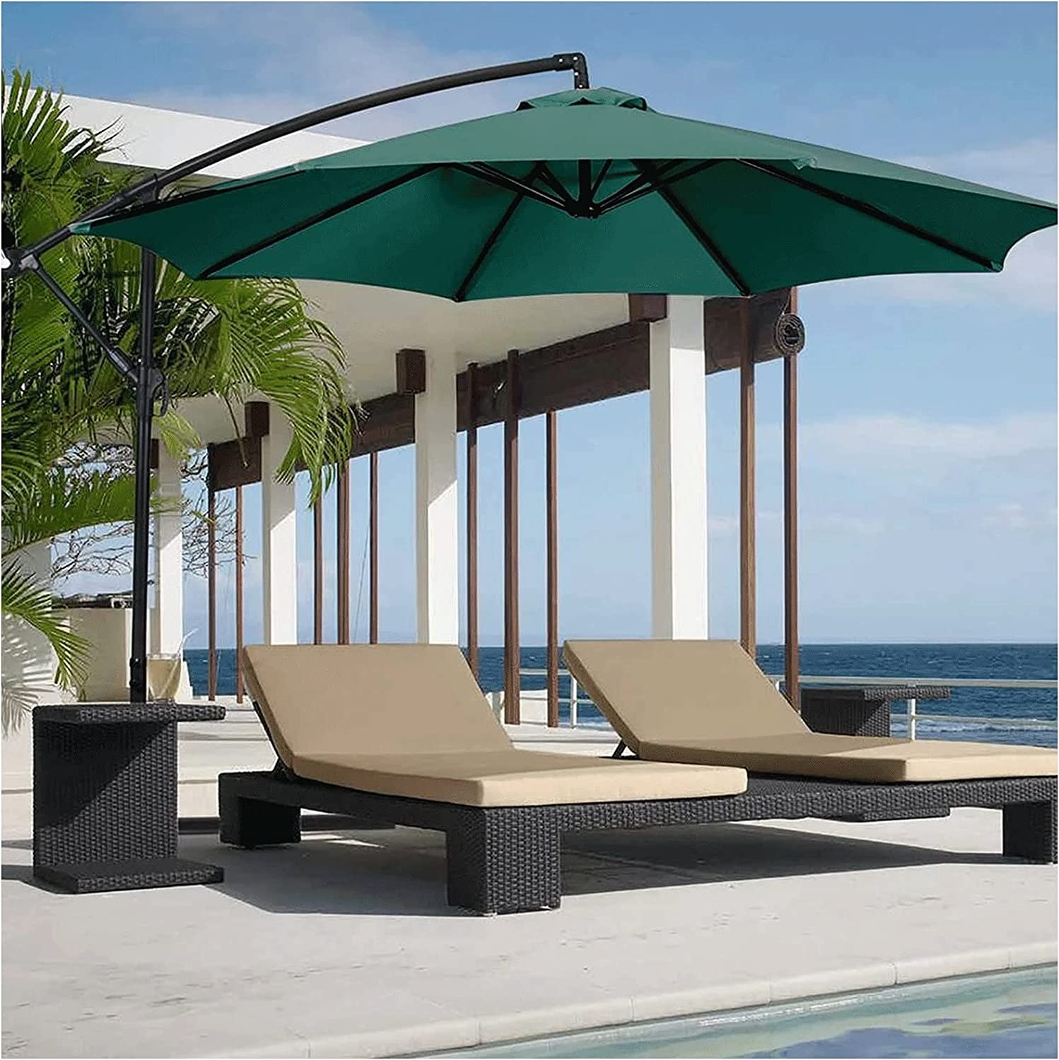 Offset Umbrella 10ft Patio Outdoor Hanging Cantilever Purchase Houston Mall