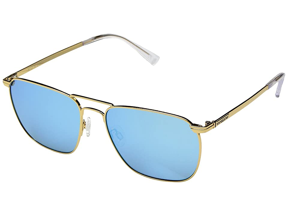 329a7fba626 VonZipper League (Gold Gloss Blue Chrome) Sport Sunglasses