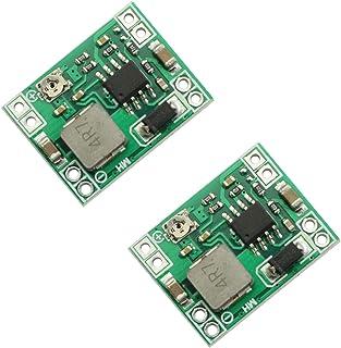 Maxmoral 2-Pack MP1584EN DC-DC Buck Converter Adjustable Step-Down Power Module 3A 24V to 12V 9V 5V 3V