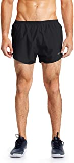 BALEAF Men's 3 Inches Running Shorts Reflective Gym Athletic Shorts