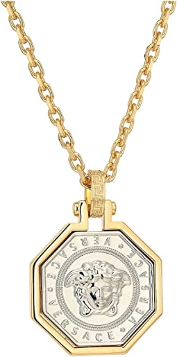 Versace - Octagonal Medallion Necklace