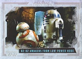 2017 Topps Star Wars Masterwork Adventures of R2-D2 Rainbow Foil Insert Card #AR-10 /565