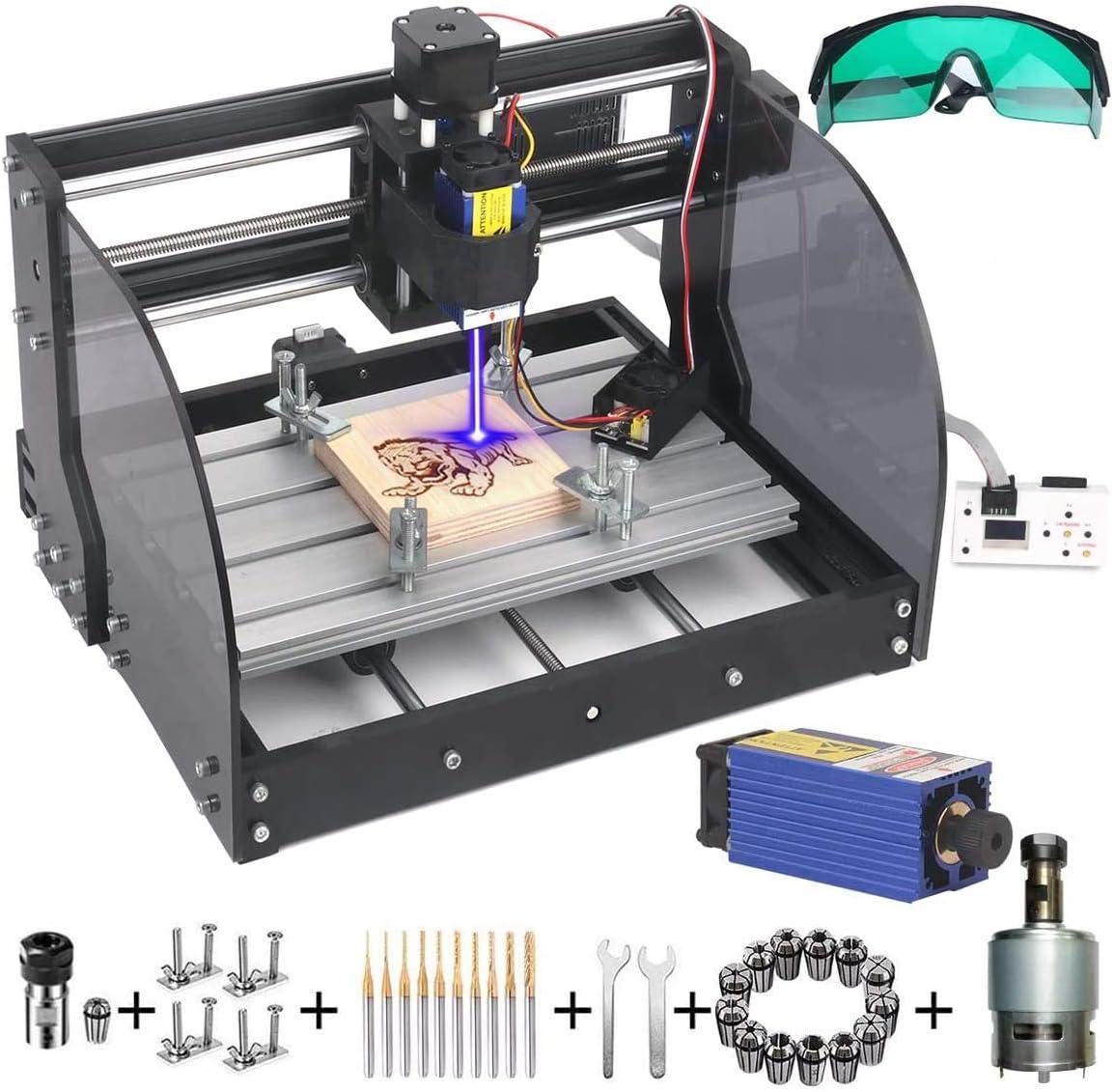 price MYSWEETY 2 in 1 7000mW CNC Engraver 5 popular GRBL 3018Pro-M Machine Cont