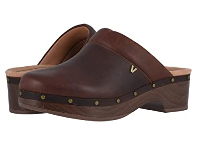 VIONIC Kacie Leather (Chocolate) Women