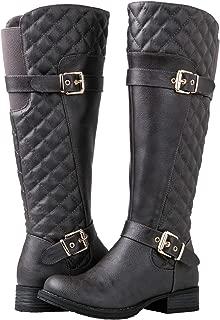 Best grey boots knee high Reviews