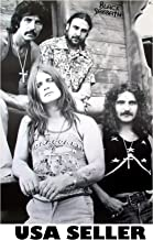 Black Sabbath early b&w POSTER 23.5 x 34 Ozzy Osbourne Tony Iommi (sent FROM USA in PVC pipe)