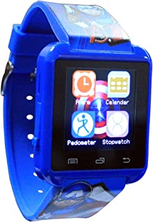 Smart Watch - Captain America, 3 Years and Above, Multi color