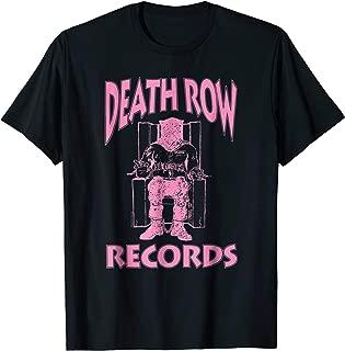 Death Row Records Logo Pink T-shirt