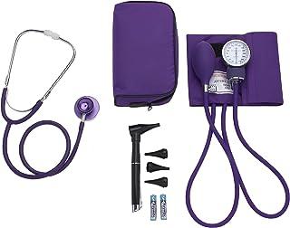 ASA TECHMED | Nurse Essentials Starter Kit with Handheld Travel Case | 3 Part Kit Includes Adult Aneroid Sphygmomanometer ...